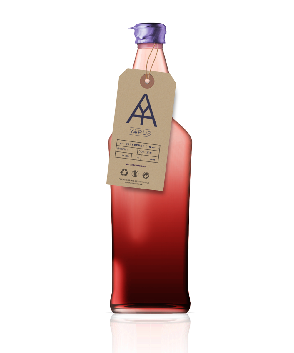 Blueberry Gin 700ml